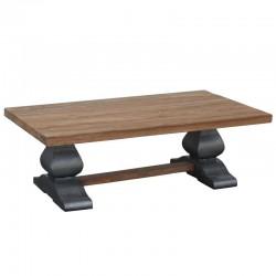 Table basse en teck 135x75 Pratas