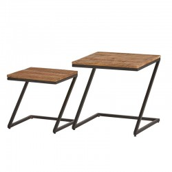 2 Tables gigognes 50x50 40x40 Best