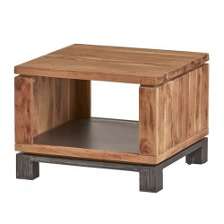 Table d'appoint en acacia 60x60 Dolbys