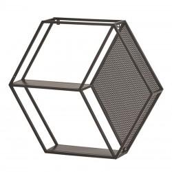 Étagère hexagonale en métal 90 New best