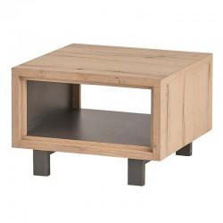 Table d'appoint en chêne 60x60 Xavier