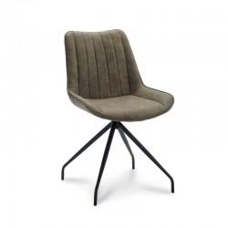 Chaise design en tissu Vinos