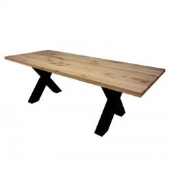 Table à manger en chêne Ravy