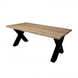Table à manger en chêne Raxy
