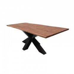 Table à manger en acacia Chloé