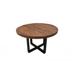 Table ronde en manguier Ronda