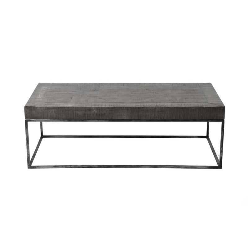 Table basse rectangle en acacia 120x60