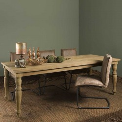 Table à manger en teck 160 Bologne