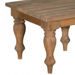 Table basse 60x60 en teck Bologne