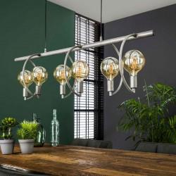 Suspension 6 ampoules suspendues style contemporain