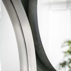 Miroir rond 50 cm diamètre argenté ou doré