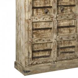 Armoire 2 portes en bois recyclé 120 Mezy