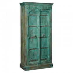 Armoire 2 portes en bois recyclé 100 Mezy