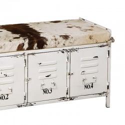 Banc meuble d'appoint en métal 120 Karma