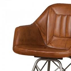 Chaise design en cuir 62 Karma