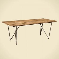 Table à manger en bois recyclé Karma