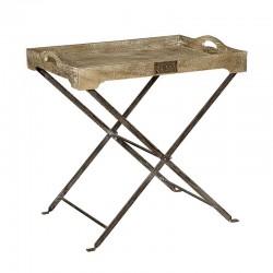 Table basse bois et métal 80 Karma