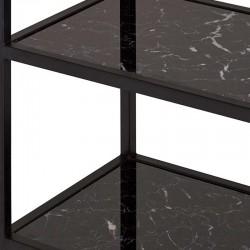 Bibliothèque en marbre et métal 80 Mabel