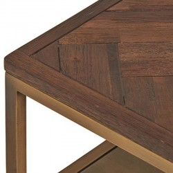 Table basse acacia métal 120 Meto