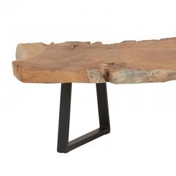 Table basse tronc d'arbre 120 Natta