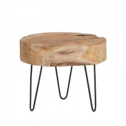 Table basse tronc d'arbre 40 Natta