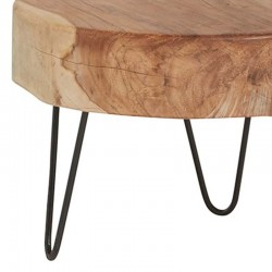 Table basse tronc d'arbre 35 Natta
