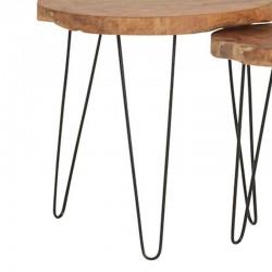 Tables basses forme tronc d'arbre 55 Natta
