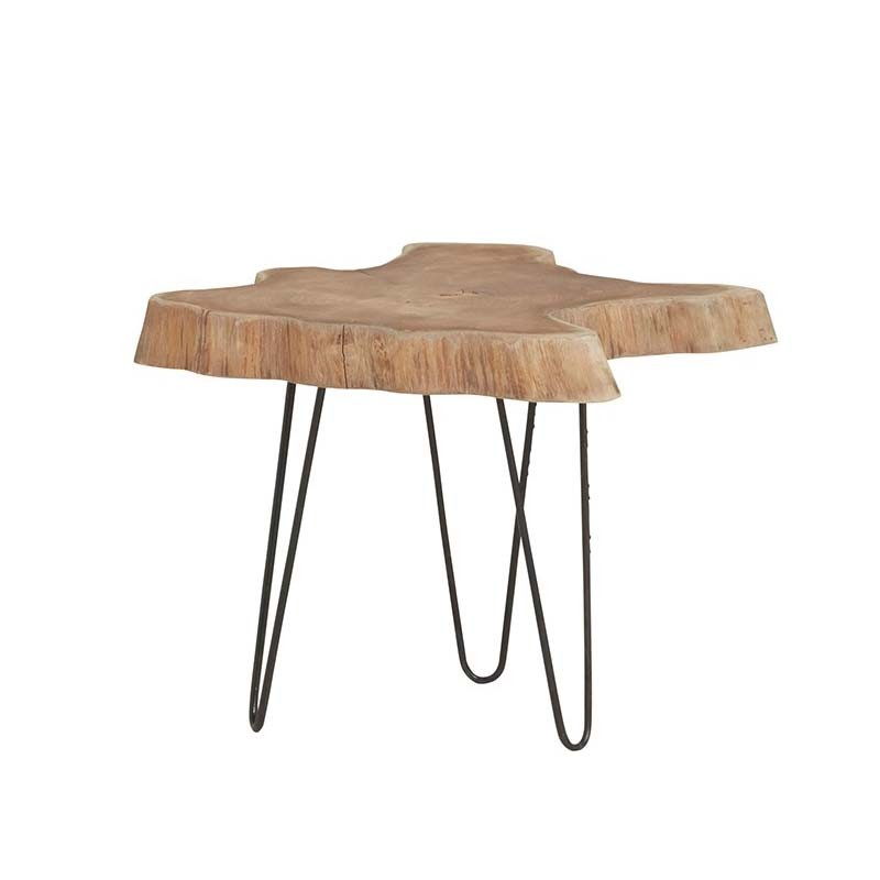 Table basse tronc d'arbre 50 Natta