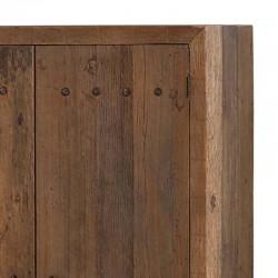 Armoire 2 portes bois et métal 120 Pura