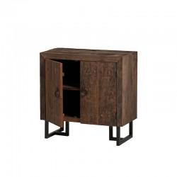 Armoire bois et métal 90 Pura