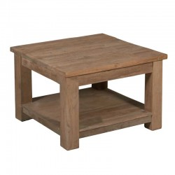 Table basse en teck 60x60 Genes
