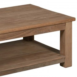 Table basse en teck 135x75 Genes