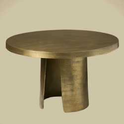 Table basse ronde pied ouvert 76 Megara