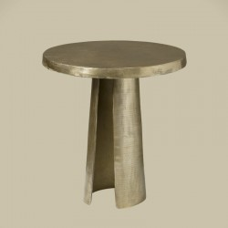 Table basse ronde pied ouvert 50 Megara