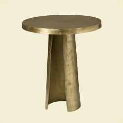 Table basse ronde pied ouvert Megara