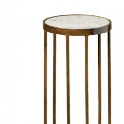Table d'appoint ronde vintage 23 Megara
