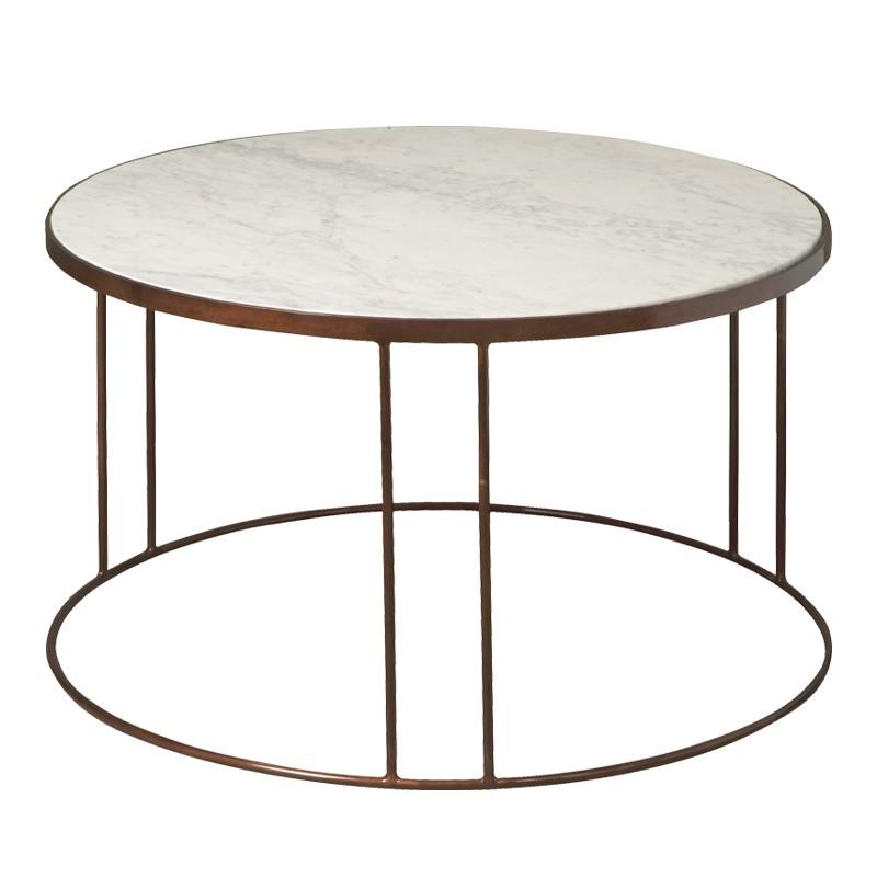 Table basse ronde vintage 81 Megara