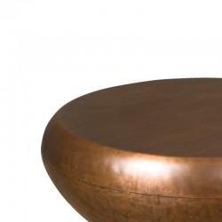 Table basse forme galet en métal 100 Rory