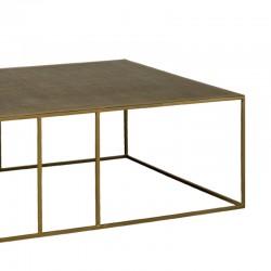 Table basse rectangulaire en métal 135 Rory