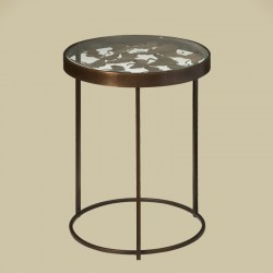 Table basse ronde en métal 40 Rory