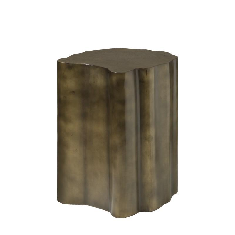 Table basse pilier en métal 45 Rory