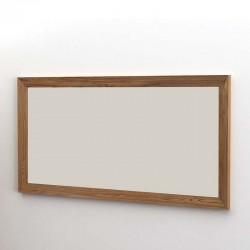 Miroir rectangle en teck