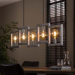 Suspension géométrique 5 ampoules