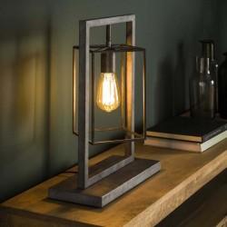 Lampe de table géométrique 1 ampoule
