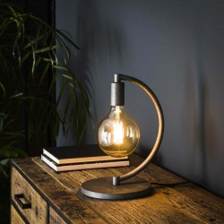 Lampe de table ampoule suspendue