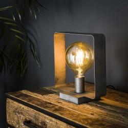 Lampe de table cadre carré
