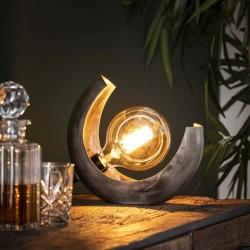 Lampe de table demi-lune