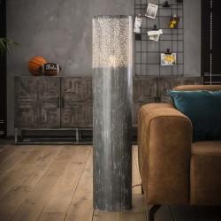 Lampadaire cylindrique effet béton 120 cm