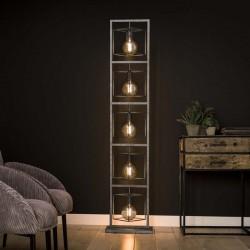 Lampadaire géométrique 5 ampoules