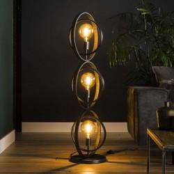 Lampadaire cercles 3 ampoules